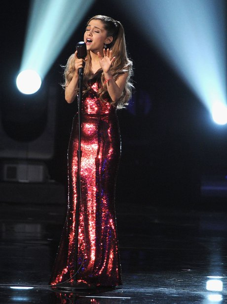Ariana Grande American Music Awards 2013