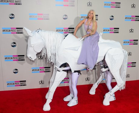 Lady Gaga American Music Awards 2013