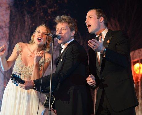 Taylor Swift, Prince William and Bon Jovi