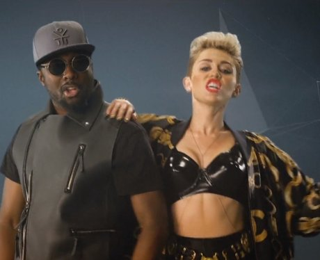 Will.i.am video with miley cyrus