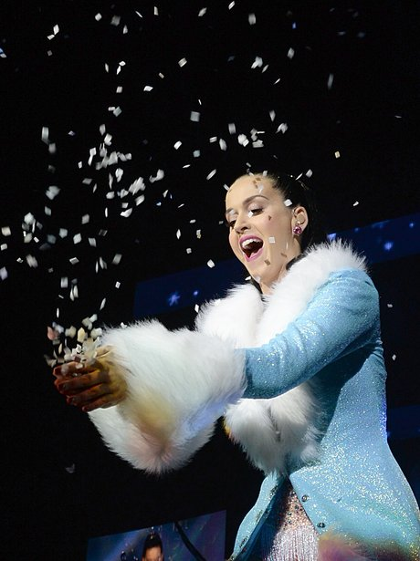 Katy Perry at the Jingle Bell Ball 2013