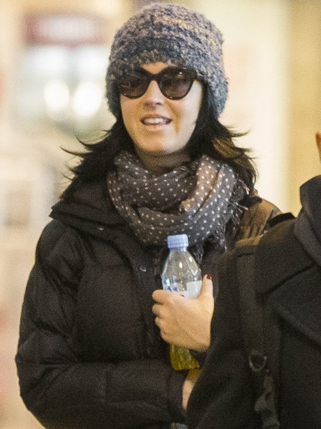 Katy Perry in Milan before the Jingle Bell ball