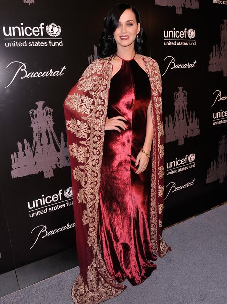 Katy Perry at UNICEF charity event