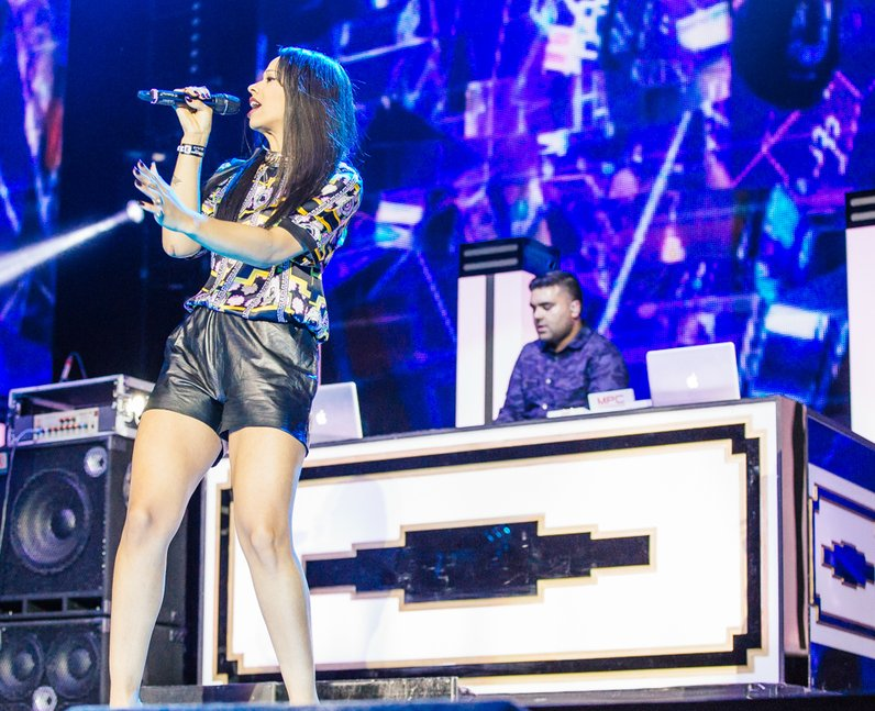 Naughty Boy with Tanika live Jingle Bell Ball 2013