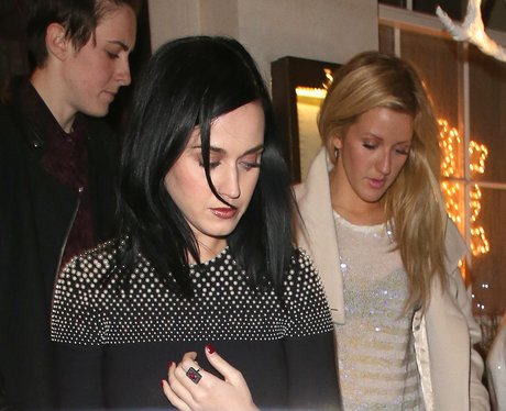 Katy Perry and Ellie Goulding head out to dinner