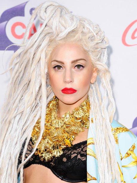Lady Gaga Red Carpet at the Jingle Bell Ball 2013