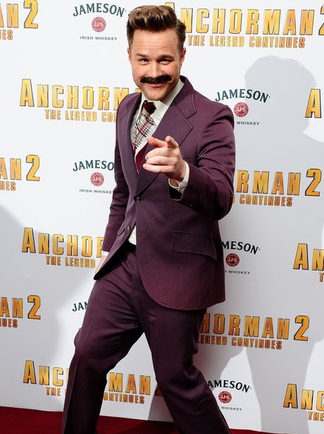 Olly Murs at the Anchorman 2 Premiere
