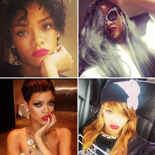 Rihanna Hair Styles 2013