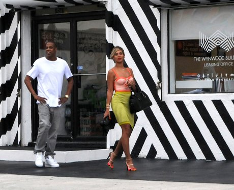 Beyonce and Jay z looking slim and healthy