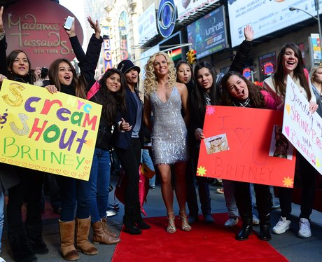 Britney Spears and Fans