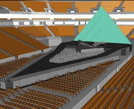 katy perry prismatic tour stage