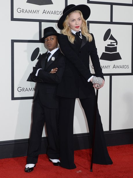 Madonna and son David Banda Mwale Ciccone Ritchie