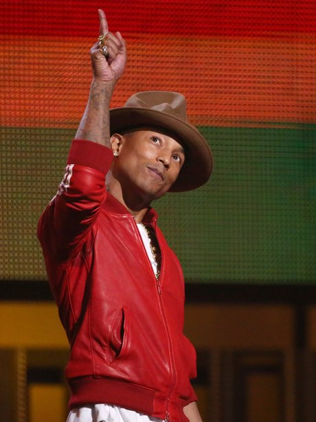 Pharrell Williams Grammy Awards 2014