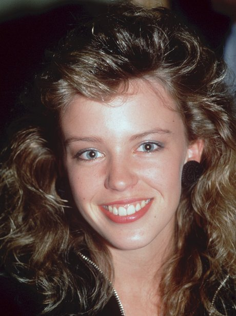 Kylie Minogue during her early Neighbours days