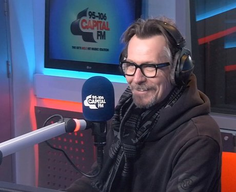 Gary Oldman in capital studio