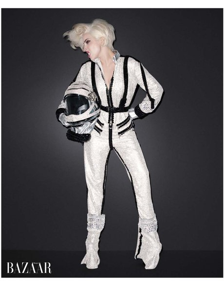 Lady Gaga Harpers Bazaar 2014