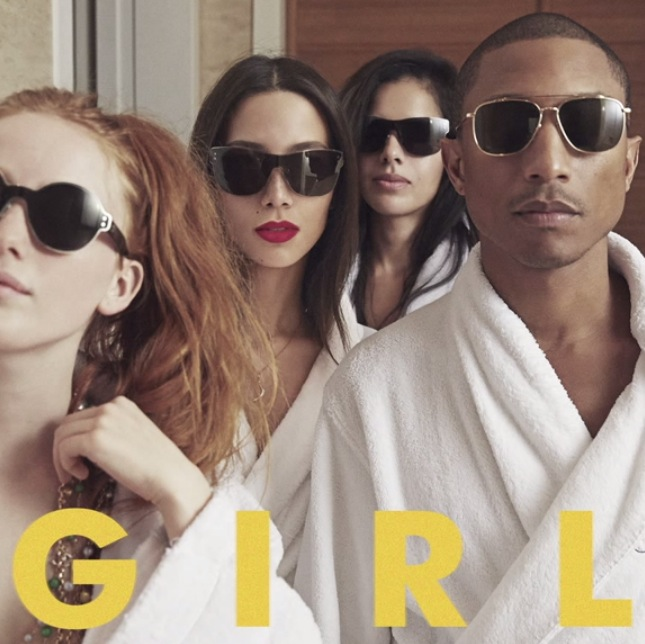 Pharrell Williams Girl album artwork