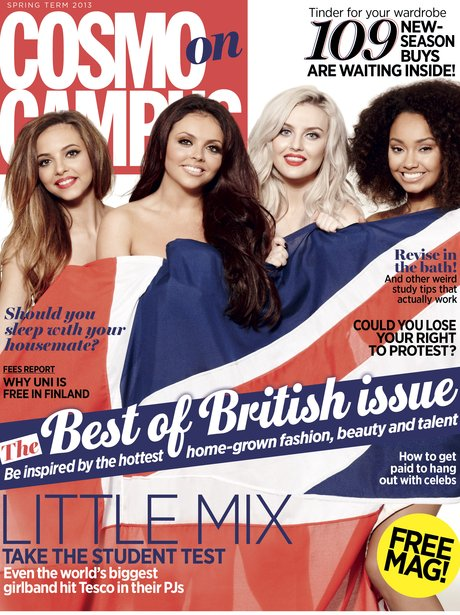 Little Mix Cosmpolitan 2014