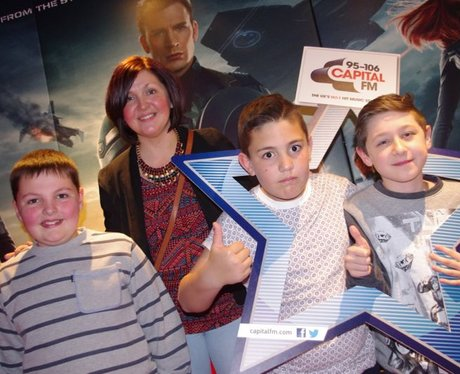 Captain America Premier At Cineworld, Cardiff
