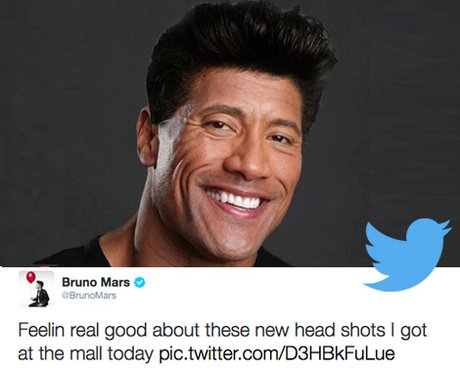 Bruno Mars wins Funniest Person To Follow on Twitter