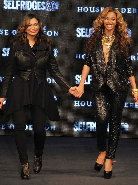 Beyonce and Mum
