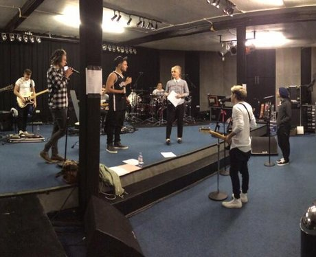 One Direction Where We Are Tour Rehearsals