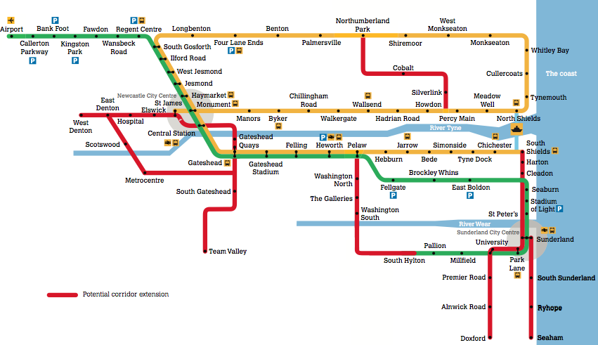 Tyne and Wear Metro Expansion Plan
