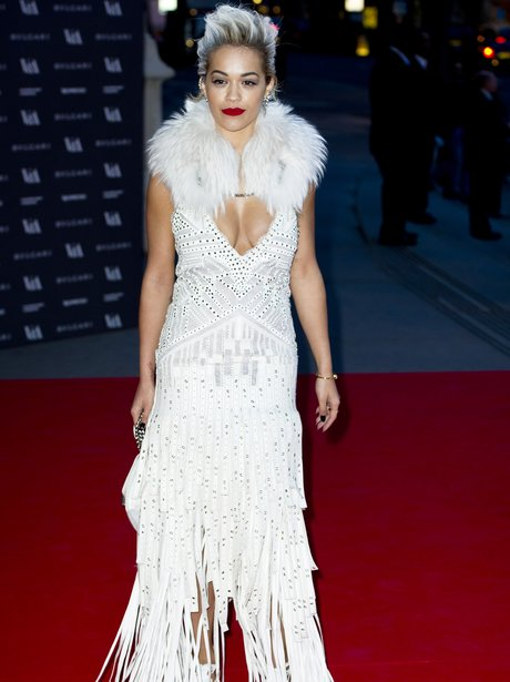Rita Ora attending the opening night of The Glamou