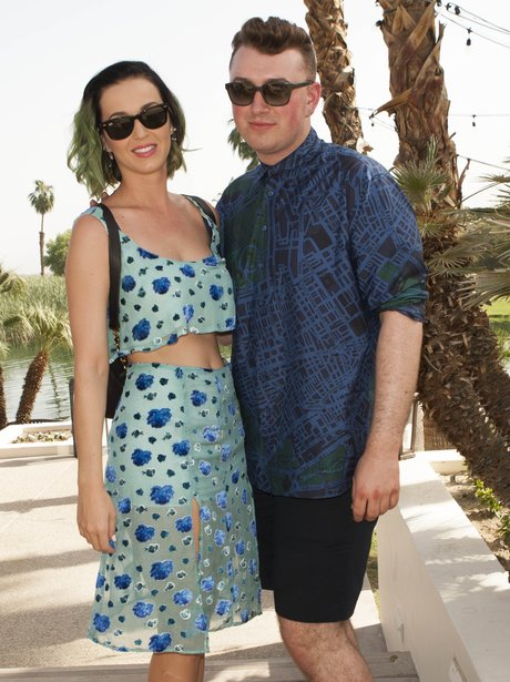 Katy Perry and Sam Smith Coachella 2014