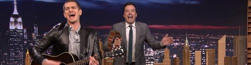 Andrew Garfield On Jimmy Fallon