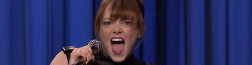 Emma Stone Lip Sync Battle On Jimmy Fallon