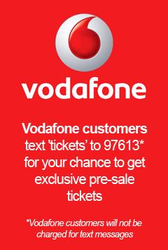 Vodafone Summertime Ball Pre-Sale 2014