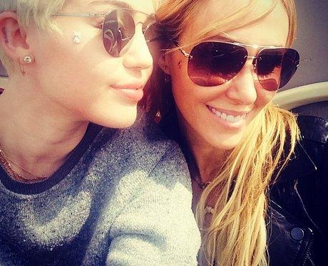 Miley Cyrus Mum London Instagram