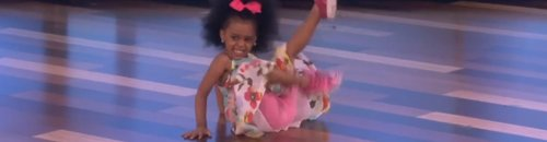 Three Year Old Dancing To 'Happy' On Ellen