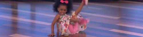 Three Year Old Dancing To 'Happy' On Ellen