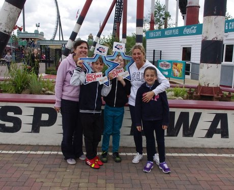 Capital's Big Day Out at Thorpe Park