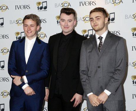 Disclosure and Sam Smith Ivor Novello Awards 2014
