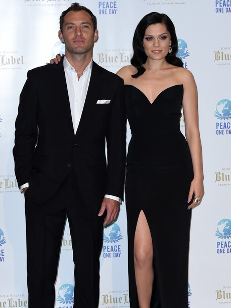 Jessie J and Jude Law in Monaco