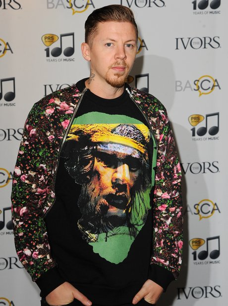 Professor Green Ivor Novello Awards 2014