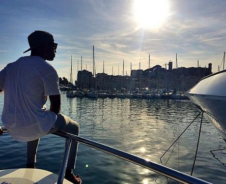 Tinie Tempah in Cannes Instagram