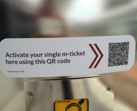 Tram passengers can use QR codes with e-tickets