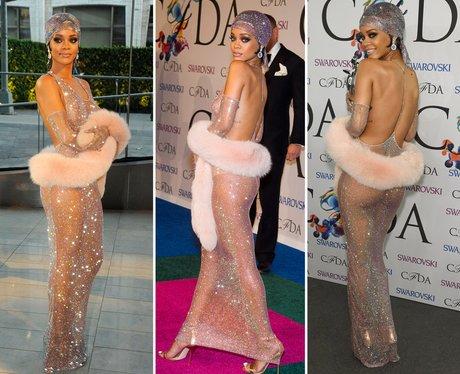 Riskiest Outfits: Rihanna