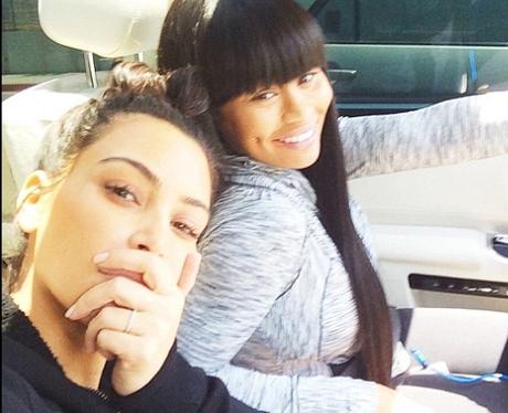 Kim Kardashian with no make up