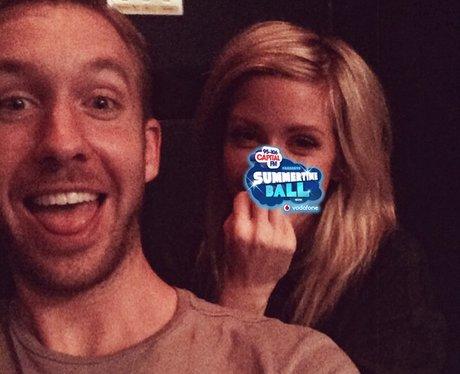 Calvin Harris and Ellie Goulding
