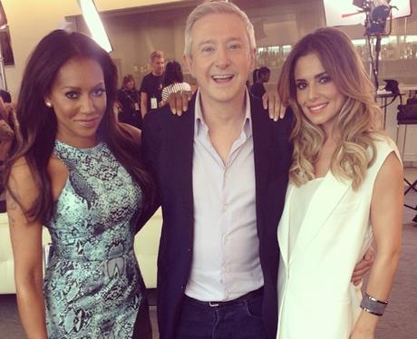 Cheryl X Factor 2014 Instagram