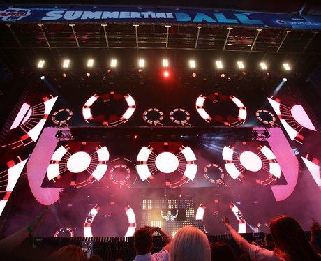 David Guetta summertime ball 2014