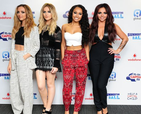 Little Mix Summertime Ball 2014 Arrivals