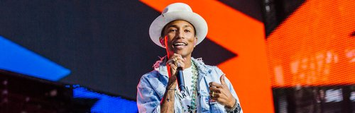 Pharrell Williams at the Summertime Ball 2014