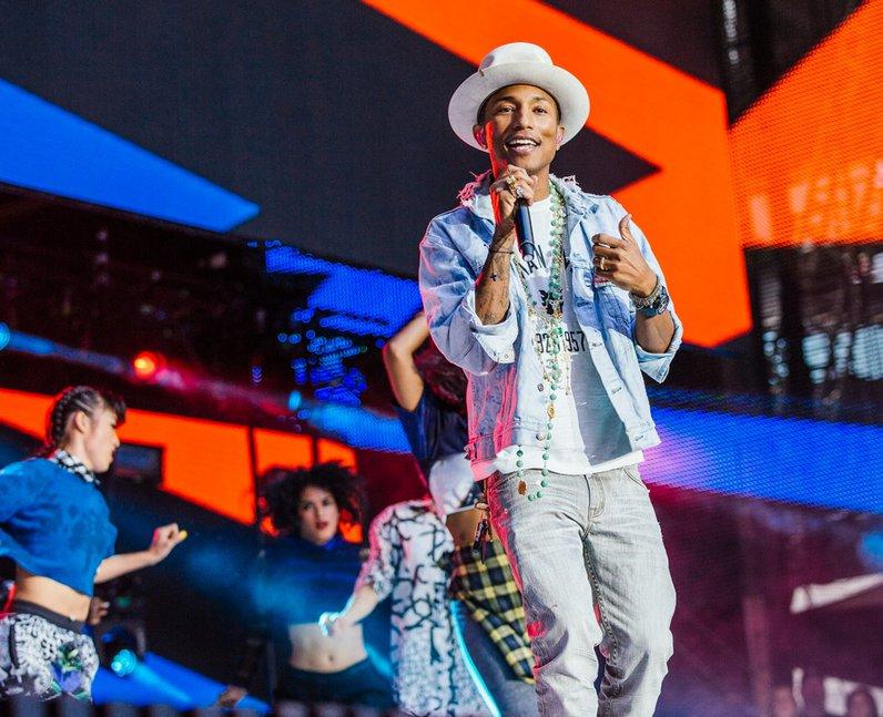 Pharrell Williams at the Summertime Ball 2014