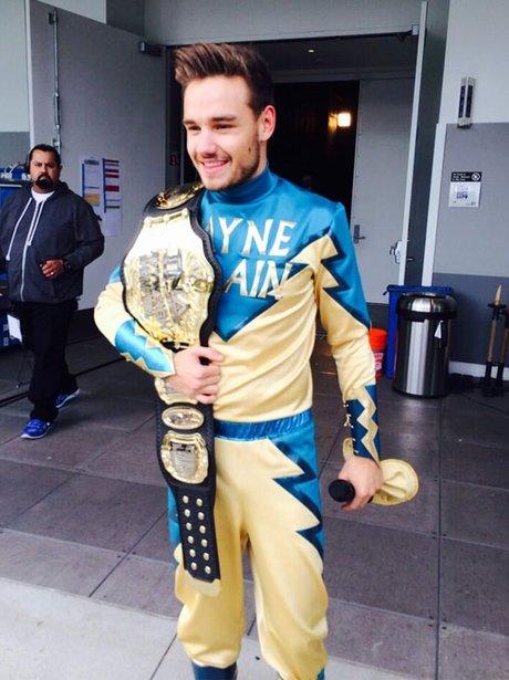 Liam Payne Wrestling